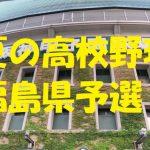 高校野球福島県予選地方大会