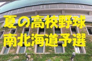 高校野球南北海道予選地方大会