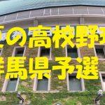 高校野球群馬県予選地方大会