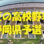 高校野球静岡県予選地方大会