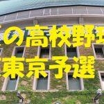 高校野球東東京予選地方大会