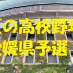 高校野球愛媛県予選地方大会