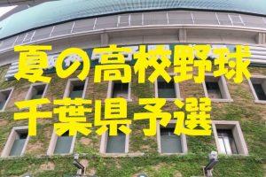 高校野球千葉県予選地方大会