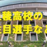 星稜高校野球部の注目選手など・石川県